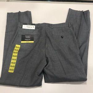 NWT Kenneth Cole Gray Dress Pants